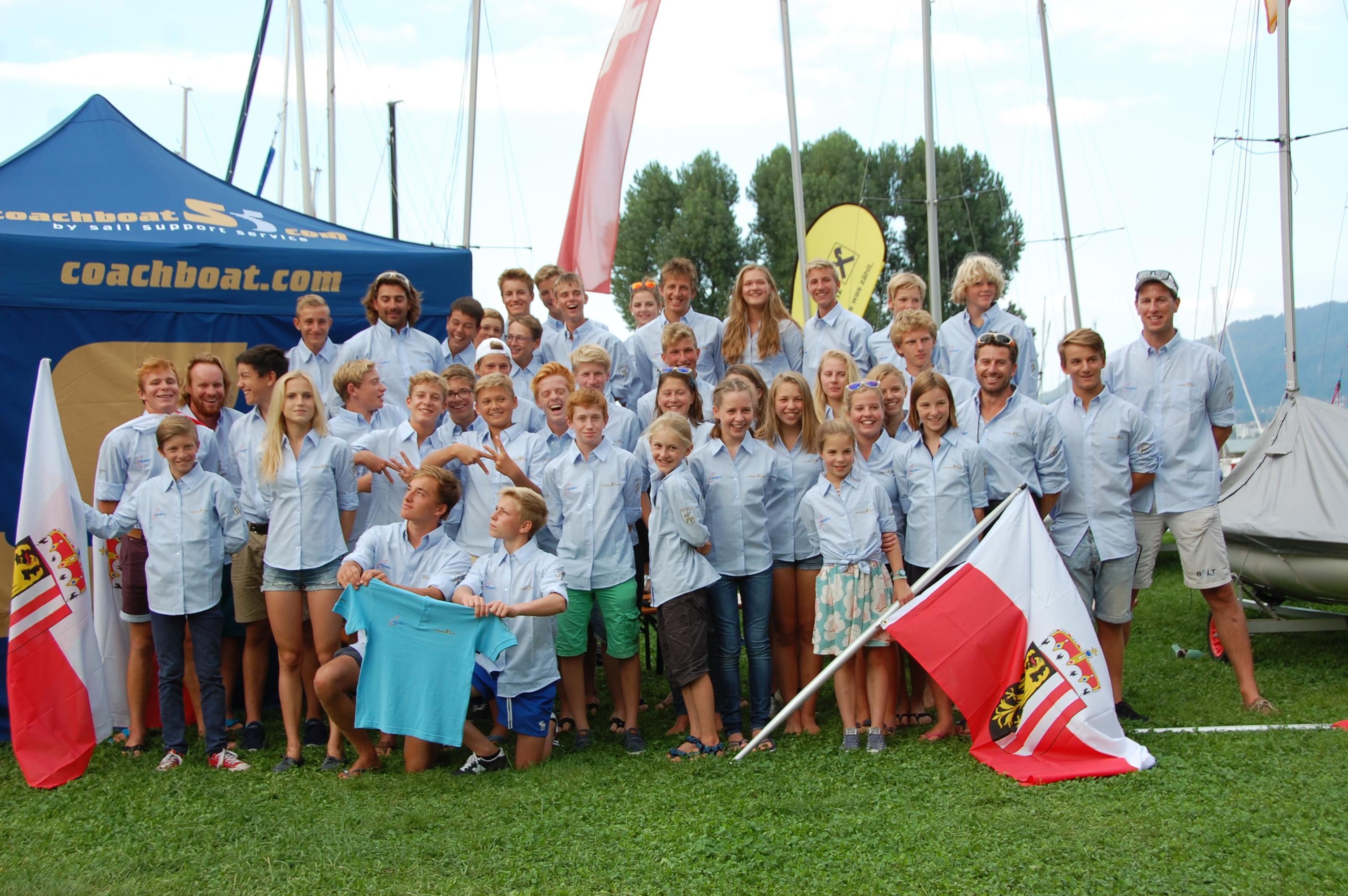 Medaillenregen für Oberösterreichs Segler bei den Jugendstaatsmeisterschaften in Bregenz am Bodensee