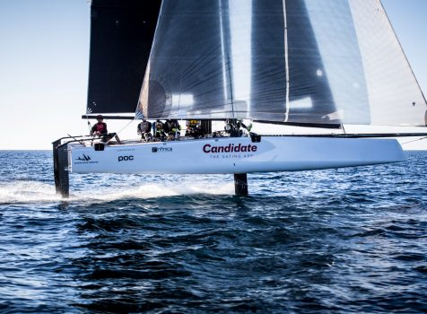 Candidate Sailing Team für Red Bull  Youth America's Cup 2017 qualifiziert