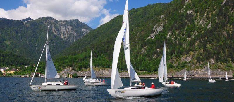 Traunseewoche 2018 Shark24 EM und H-Boot IÖSTM  vom 10. – 12. Mai